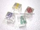 Colourful Crystal Quartz USAI Cube Set