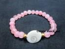 Rose Quartz Gomti Chakra Bracelet