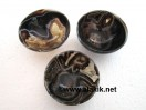 3 inch Black Sulemani Agate Bowls