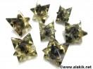 Blue Jade Orgone Merkaba Star