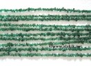 Dark Green Jade Chips strands