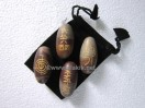 Lingam reiki set with pouch