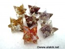 Mix Gemstone Orgone Merkaba Star