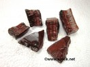 Raw Red Tiger Eye  Chunks