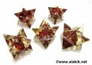 Red Jasper Orgone Merkaba Star