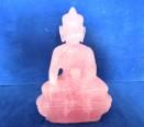 Rose Quartz Buddha 290g