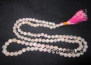 Rose Quartz Notted Jap Mala