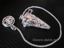 Silver Choko Reiki small Cage pendulum
